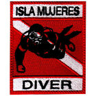 Isla Mujeres Scuba Diver Embroidered Patch
