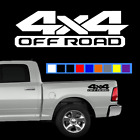 Dodge Ram 4x4 Offroad (Pair) 1500 2500 Multi-Color Vinyl Decal Sticker $8.99 USD on eBay