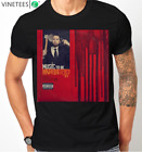 eminem music to be murdered by rap cover album rap god darkness mens t shirt