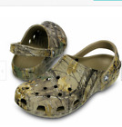 Crocs Classic Realtree Xtra Camo Khaki Clog Shoes 3 sizes