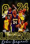 Kobe Bryant Custom T-shirt LA Lakers Basketball Champion NBA-Men/Wom/Kids-Mamba image
