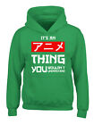 It's An Anime Thing You Wouldn't Understand Hoodies for Kids Anime Youth Sweater