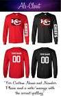 Kansas City Chiefs Superbowl Champions Football Long Sleeve Shirt Cu $31.99 USD on eBay