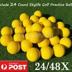 24-48X Practice Foam Golf Balls Easy Visibility Training Indoor Outdoor