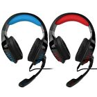 3.5mm Gaming Headset LED Headphone With Microphone For PS4 Switch Laptop Gamer