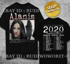 Alanis Morissette Shirt Tour 2020 Jagged Little Pill Black T-Shirt Size S - 3XL image