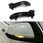 Smoked Side Mirror Sequential Turn Signal Indicator Lights For BMW F48 F49 X1