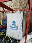 New Used Builders Bags Garden Waste 1 & 2 cub m Ton Jumbo Bags Storage Sack FIBC