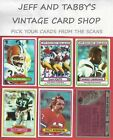 1980 TOPPS FOOTBALL 173-352 U-PICK FROM SCANS $0.99 USD on eBay