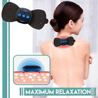 Portable Mini Cervical Massager Relaxer Neck Pain Relief Pad TENS Muscle Massage