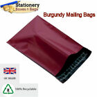 STRONG BURGUNDY Mailing Bags 6.5