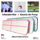 Airtrack Air Track Floor Inflatable Gymnastics Tumbling Taekwondo Sports Mat FS image