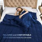 Cozy Adults Weighted Blanket 20 lbs 48''x72'' 60''x80'' Sleep Helper for Anxiety image