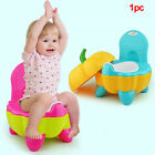 Cute Potty Pumpkin  Baby Training Folding Toilet Seat Chair Cartoon image