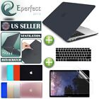 For MacBook Air 13.3 A1932 Rubberized Hard Case Shell Keyboard Cover Screen Film