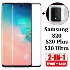 Screen display protector Camera lens tempered glass For samsung S20 S20+ Ultra