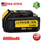 For DeWalt 20V 20 Volt Max XR 6.0AH Lithium Ion Battery DCB206-2 DCB205-2 DCB200