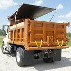 Heavy Duty 18oz AND 22oz Asphalt SOLID Vinyl Dump Truck Trailer Tarp