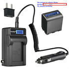 Kastar Battery LCD AC Charger for Sony NP-QM91D NP-QM91 & Sony CCD-TRV116 Camera