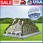 TOMSHOO Camping Tent 2 Person Single Layer Outdoor Portable Camouflage Hiking