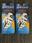 2 Pack Bionic Golf Glove StableGrip Men's Brand New for Right handed golfers