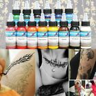 30ml/Bottle Professional Tattoo Ink Monochrome 14 Colors Set Tattoo Pigment Kit