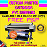 More images of CUSTOM PERSONALISED OUTDOOR BANNER PRINTING PVC BUSINESS ADVERTISING