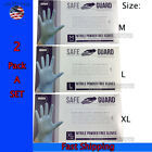 Kyпить Safeguard Nitrile Disposable Gloves - Powder-Free Latex-Free, Food Grade 200 PCS на еВаy.соm