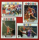2008-09 Topps Chrome Refractor Iverson O'Neal Rodman Maravich Hill Paul Wallace on eBay