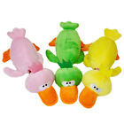 Funny Pet Dog Puppy Cat Chew Squeaker Squeaky Plush Smtp Play Bird Sound Fu B7W2