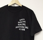 ANTI SOCIAL CLUB T SHIRT assc black astroworld supreme travis scott concert tour image