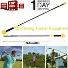 Golf Swing Aid Trainer Stick Indoor Practice Power Strength Tempo Flex Training*