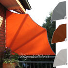Collapsible Balcony Side Awning Sunshade Foldable Canopy Outdoor Terrace Screen