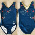 NWT GK Elite Disney Beauty  Beast Belle Gymnastics Leotard Child  Adult Sizes
