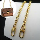 PURSE SHOULDER CROSSBODY CHAIN STRAP METAL REPLACEMENT GOLD 9mm