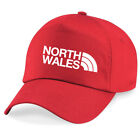 North Wales Cardiff Fußball Rugby Ventilator Baseball Kappe 7 Farben 5 Panel