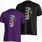 Kobe Bryant T-Shirt - Los Angeles LA Lakers Black Mamba Shirt - S-5XL on eBay