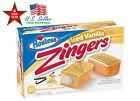 Hostess Zingers Raspberry Vanilla ChocoIate Snack Cakes 10Pack 20Pack or 40Pack