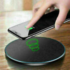 Qi Wireless Charger Fast Charging Pad Alloy Mat For Apple iPhone 11 Pro Max XS 8