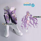 Karen Legend of Mermaid Melody Pichi pichi pichi Purple Shoes Boots Cosplay