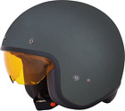 AFX FX142 Solid Color Open Face Helmet FROST GREY
