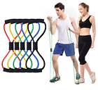 Resistance Bands Elastic Legs Hands Home Exercise Fitness Accessories For Men image