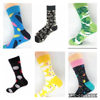 Mens Colorful Funny Design Novelty Socks - $2.50 per pair