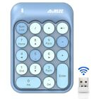 AJAZZ AK18 2.4G Wireless Digital Keypad Financial,Accounting External Roun Z4R5