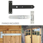 Heavy Duty Hook And Band Gate Hinges Garden Shed Door With Fixings
