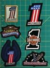 Harley Davidson Patch Display patches sold each $5.0 USD on eBay