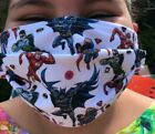 Kids Face Mask 100% Cotton Protection Reusable - Homemade Washable - UK
