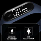 LED Silicone Digital Sports Watch - 50m Water Proof image