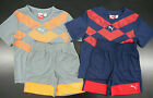Toddler Boys PUMA Sport Lifestyle Assorted S.S. Shirt  Shorts 2PC Sets Size 4T