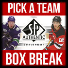 2019-20 UD SP AUTHENTIC BOX BREAK *PICK A TEAM* + FREE BONUS KAAPO KAKKO #PAT1 $7.0 CAD on eBay